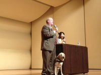 ence-museum-auditorium-mike-speaking-yoshie-translating-mike-introducing-africa-july-17-2012