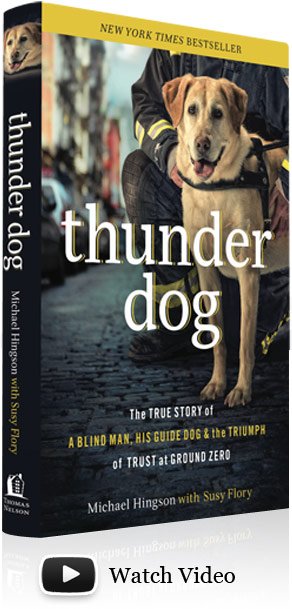 "Watch ""Thunder Dog"" video."